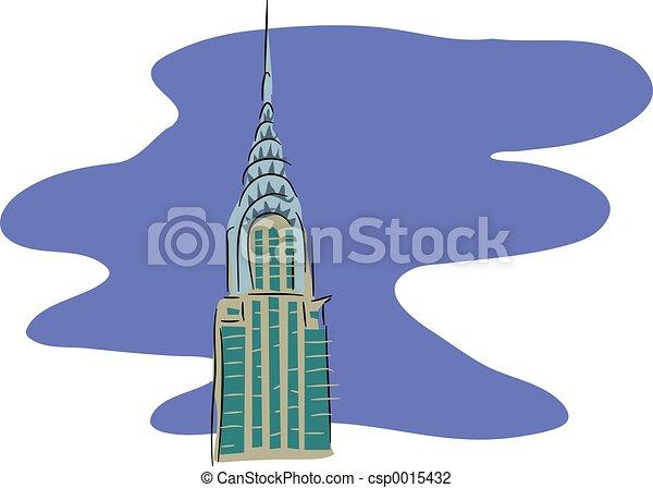 Chrysler Building - csp0015432