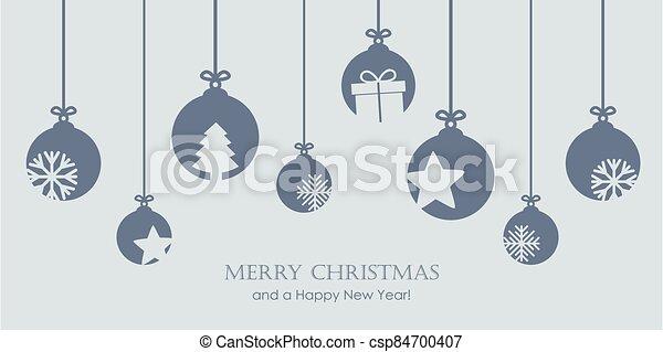 chuchería, estrellas, decoración, regalo, copos de nieve, navidad - csp84700407