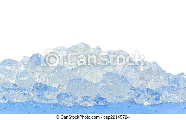 Chunks of crushed ice - csp22145724