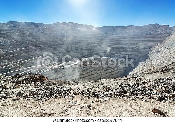 Chuquicamata Mine View - csp22577644