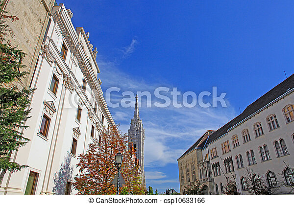 Church at Buda Castle in Budapest, Hungary - csp10633166