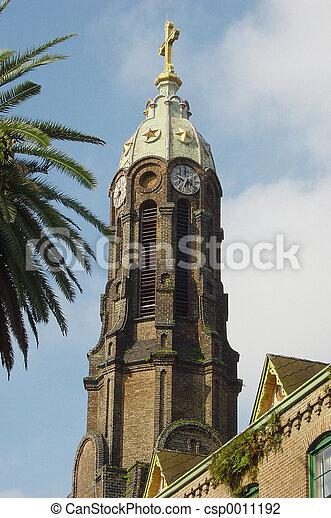 Church Bell Tower - csp0011192