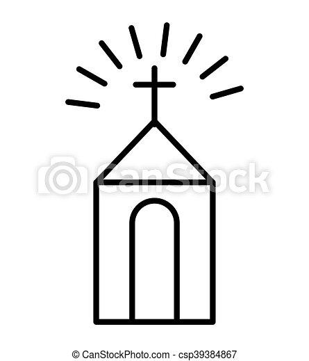 church building isolated icon vector illustration design clip art rh canstockphoto ie church building clipart images lds clipart church building