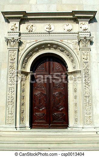Church-door - csp0013404