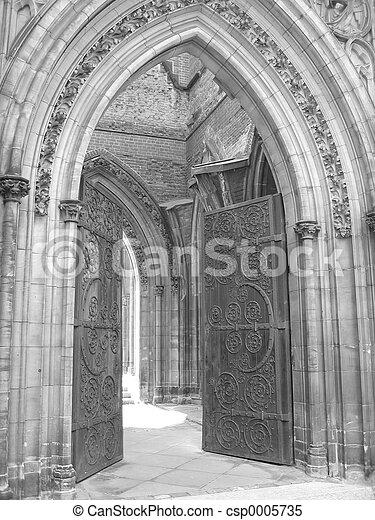 Church Entrance I - csp0005735