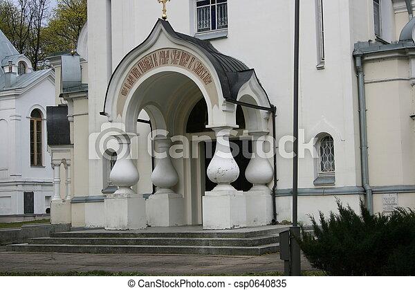 church entry - csp0640835