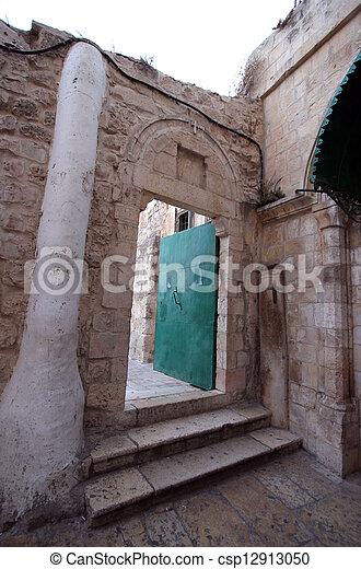 Church Holy Sepulchre, Jerusalem - csp12913050