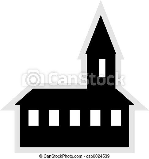 Church Icon - csp0024539