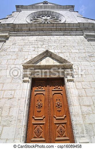 Church in Annecy - csp16089458