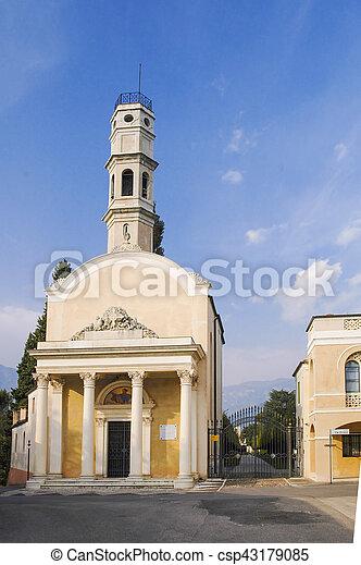 church in Bassano del Grappa - csp43179085