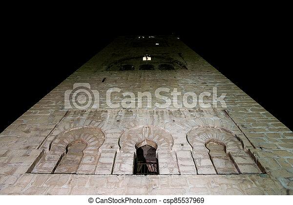 church in jerusalem, photo as background - csp85537969