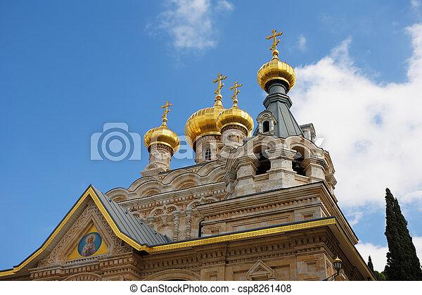 Church in Jerusalem - csp8261408