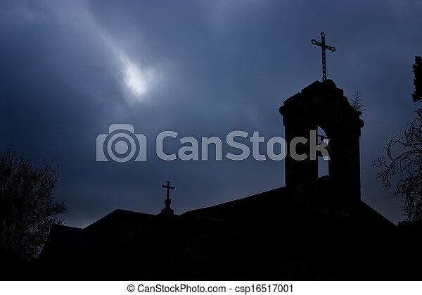 Church in Jerusalem - csp16517001