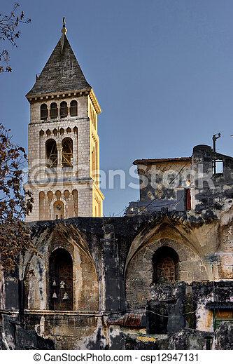 Church in Jerusalem - csp12947131
