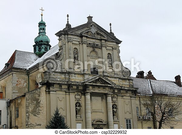 Church in Lviv - csp32229932