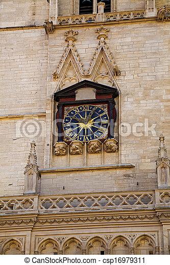 Church in Lyon, France - csp16979311
