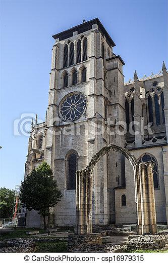 Church in Lyon, France - csp16979315