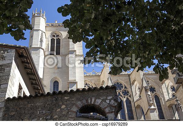 Church in Lyon, France - csp16979289