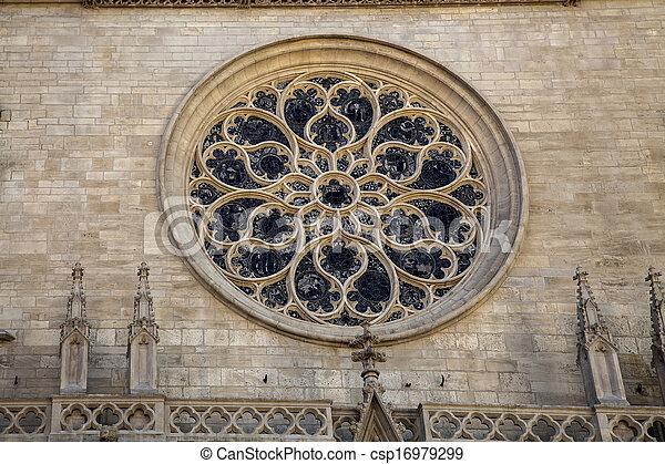 Church in Lyon, France - csp16979299