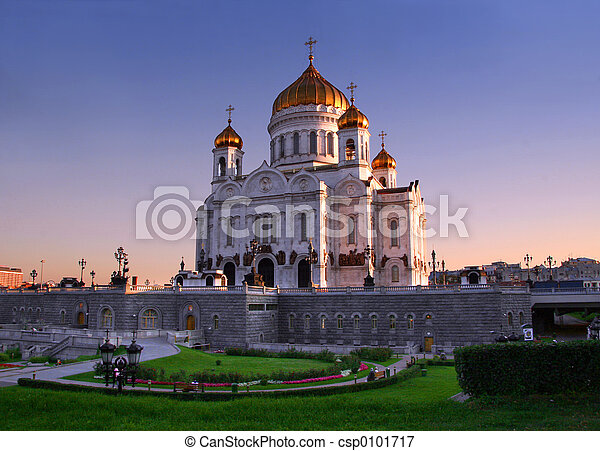 Church in Moscow - csp0101717