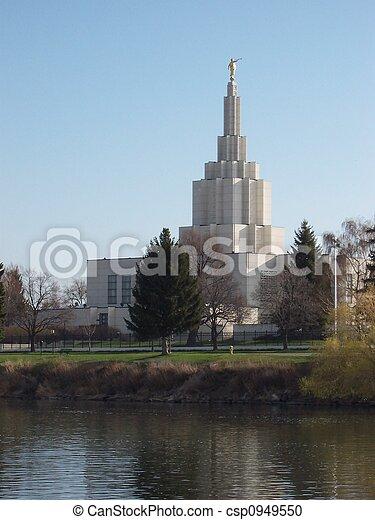 Church in salt Lake - csp0949550
