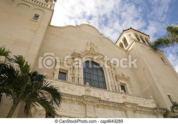 Church in West Palm Beach - csp4643289