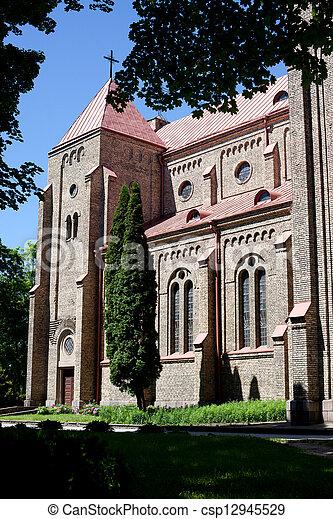 Church in Zverynas, Vilnius - csp12945529
