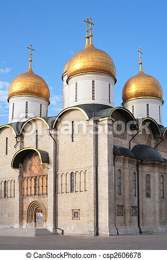 Church. Kremlin. Moscow. - csp2606678