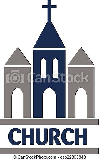 Church logo  - csp22805848