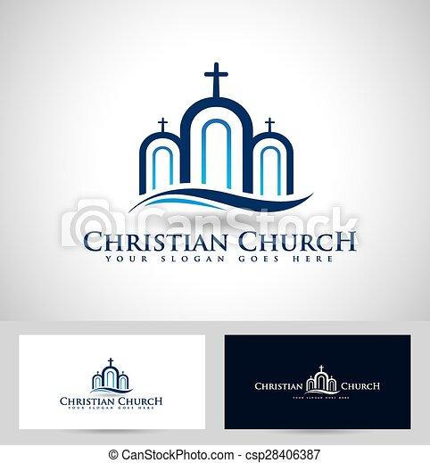 Church logo design creative church christian icon design and church logo design creative church christian icon design and business card template cheaphphosting Choice Image