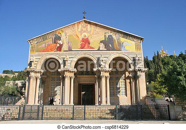 Church of All Nations, Jerusalem, Israel. - csp6814229