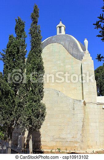 Church of Dominus Flevit in Jerusalem - csp10913102