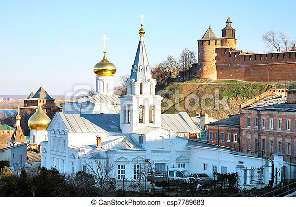 Church of Elijah the Prophet in Nizhny Novgorod - csp7789683