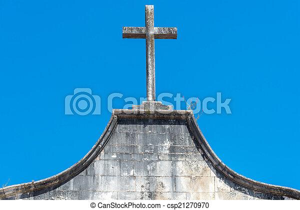 Church of Sao Joao de Almedina, Coimbra (Portugal) - csp21270970
