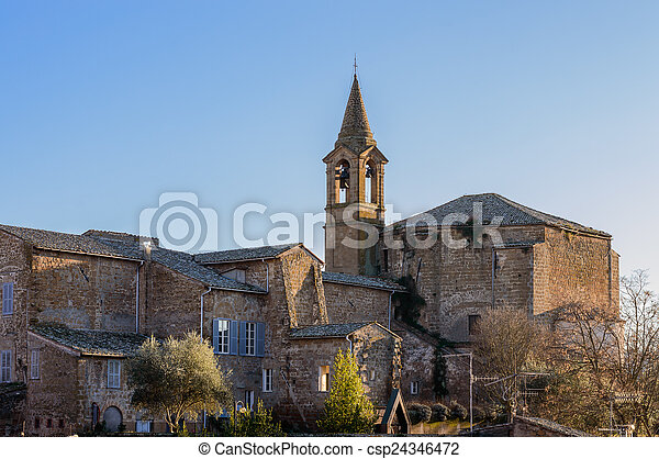 Church of St. John in Orvieto - csp24346472