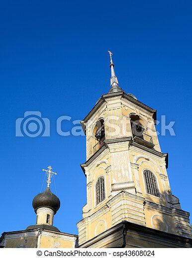 Church of St. John the Baptist in Roschene. - csp43608024