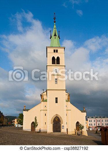 Church of St Margaret in Kasperske Hory - csp38827192