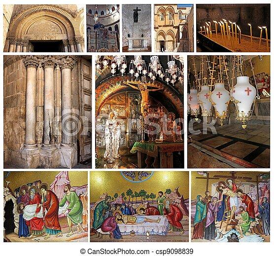 Church of the Holy Sepulcher - csp9098839