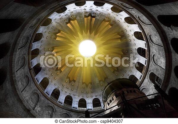 Church of the Holy Sepulchre in Jerusalem - csp9404307