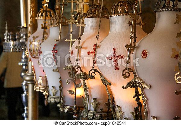 Church of the Holy Sepulchre in Jerusalem - csp81042541