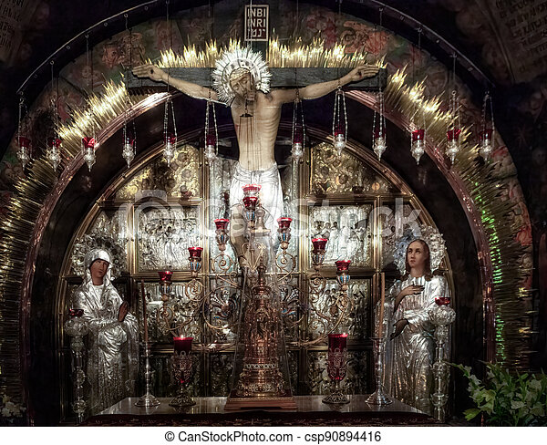 Church of the Holy Sepulchre - csp90894416