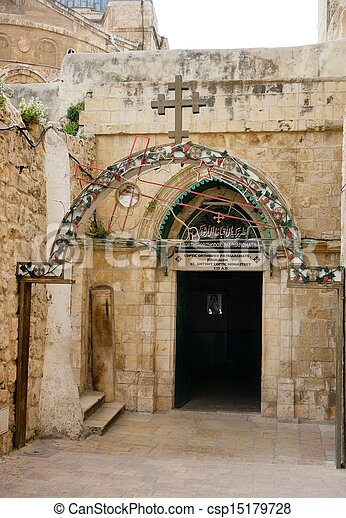 Church of the Holy Sepulchre - csp15179728