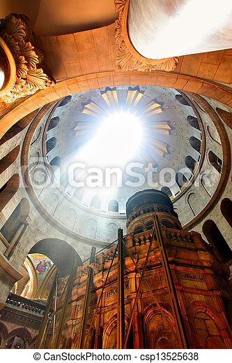 Church of the Holy Sepulchre - csp13525638