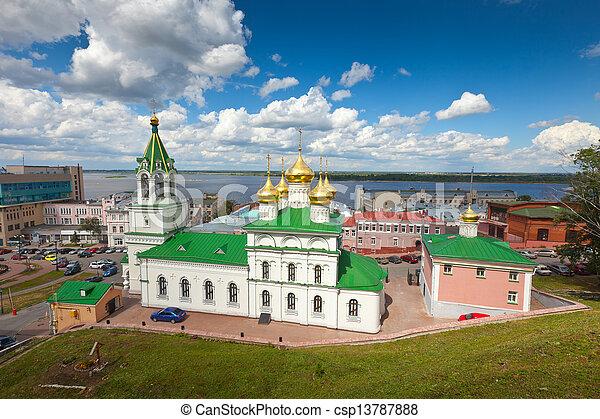Church of the Nativity John the Baptist at Nizhny Novgorod - csp13787888