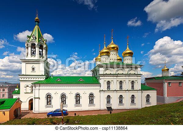 Church of the Nativity John the Baptist in Nizhny Novgorod - csp11138864