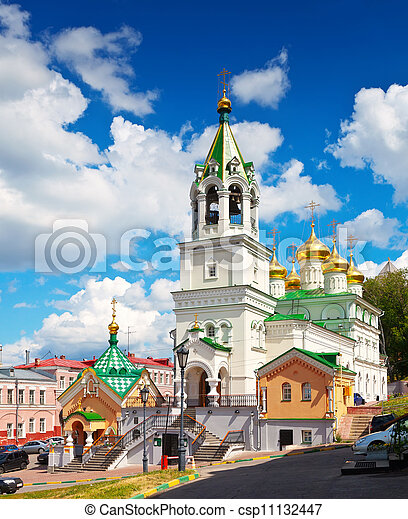 Church of the Nativity John the Baptist in Nizhny Novgorod - csp11132447