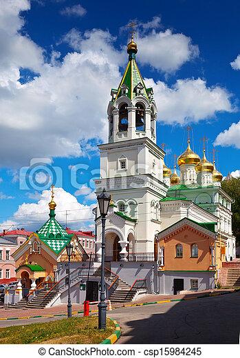 Church of the Nativity John the Baptist at Nizhny Novgorod - csp15984245