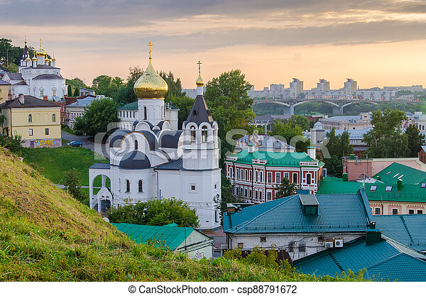 Church of the Nativity of John the Baptist in Nizhny Novgorod - csp88791672