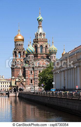 Church of The Savior on Spilled Blood in Saint-Petersburg - csp9730354
