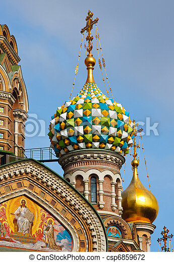 Church of the Savior on Spilled Blood, St. Petersburg - csp6859672